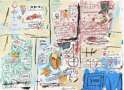 Jean-Michel Basquiat, 'Olympic', 1982-1983/2017