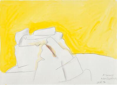 Maria Lassnig, 'Anlehnungsbedürftig', 1996
