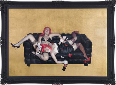 Chen-Dao Lee, 'Cat Fight-Sleeping Beauty', 2013