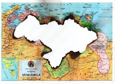 Horacio Zabala, 'Combustión I - Arde Venezuela', 2018