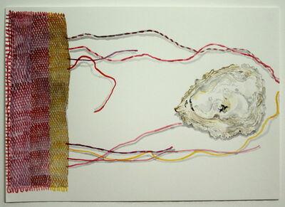 Jocelyn Clarke, 'Oyster Shell, Bird and Drifting Threads', 2020