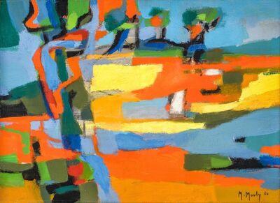 Marcel Mouly, 'Les Champs Rouges', 1960