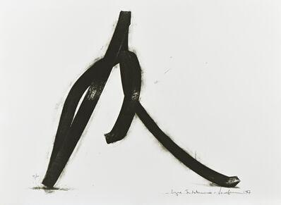 Bernar Venet, 'Ligne indéterminée', 1987