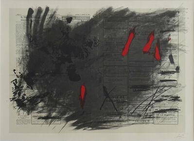 Antoni Tàpies, ' Nocturne matinal', 1970