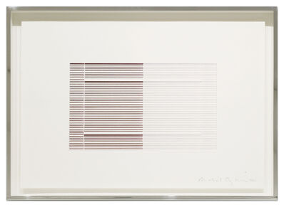 Michael Craig-Martin, 'Untitled (Venetian Blind Study 3)', 1988
