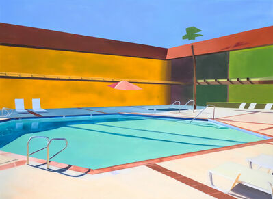 Ciara Rafferty, 'Hotel Pool 4', 2017