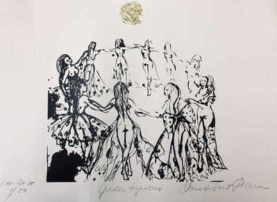 Norma de Saint Picman, 'Golden tigresses - le circle d'énergie féminine II', 2018