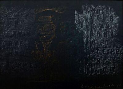 Bob and Roberta Smith, 'Believe in Darwin Orwell and Yoko... / Make Your Own Damn Art...', 2004