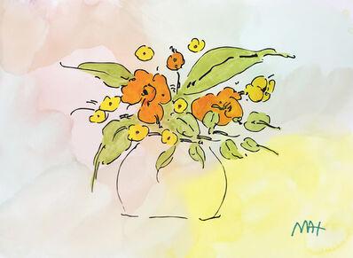 Peter Max, 'FLOWER VASE', ca. 1990