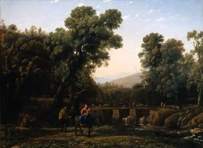 Claude Lorrain, 'The Flight into Egypt', about 1635