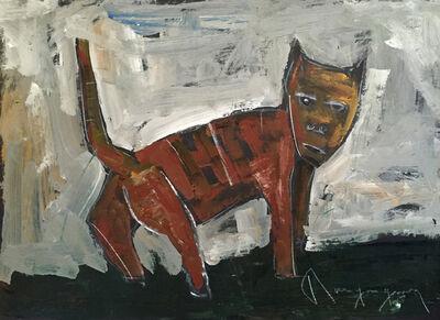 Paul-Henri Bourguignon, 'Cat (77-10912.14)', 1977