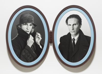 Gillian Wearing, 'Me as Madame and Monsieur Duchamp', 2018