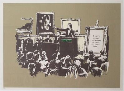 Banksy, 'Sepia Morons', 2007