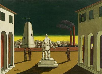 Giorgio de Chirico, 'Piazza d'Italia', 1960