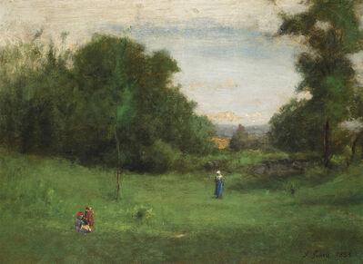 George Inness, 'Summer, Milton', 1883