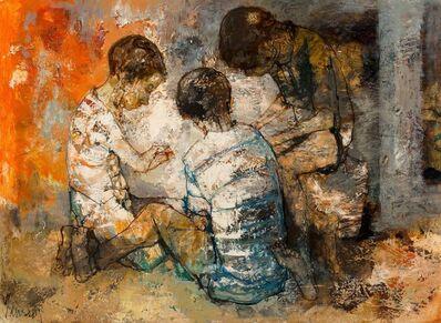 Jean Jansem, 'Untitled (Three Children)'