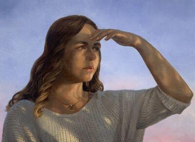 Julianna Wells, 'Looking Forward (Portrait of Rachel Linnemeier)', 2020
