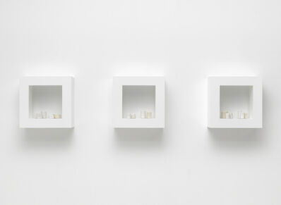 Edmund De Waal, 'the white road I-III', 2013