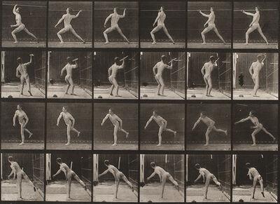 Eadweard Muybridge, 'Throwing a spear', 1872-1885 / printed 1887