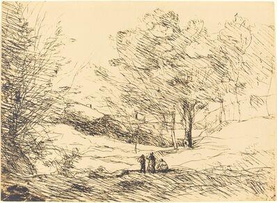 Jean-Baptiste-Camille Corot, 'Souvenir of Lake Maggiore (Souvenir du Lac Majeur)', 1871