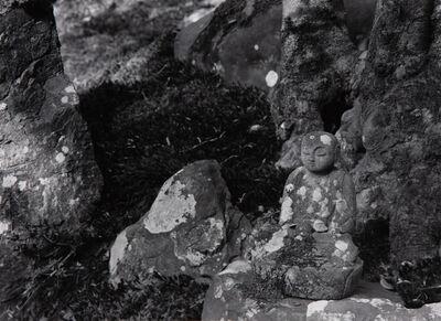 Paul Caponigro, 'Stone Buddha, Renge-Ji Temple, Kyoto, Japan', 1976