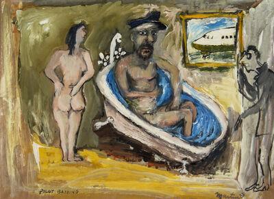 James Martin, 'Pilot Bathing', 1988