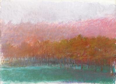 Wolf Kahn, 'Dark Trees', 1991