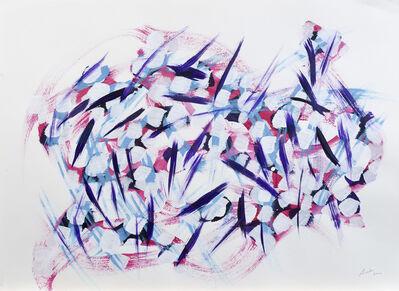 Marcel Barbeau, 'Envol vers les pics', 2006