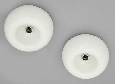 Achille and Pier Giacomo Castiglioni, 'Two plafoniere lamps 'Velella' for FLOS', 1967
