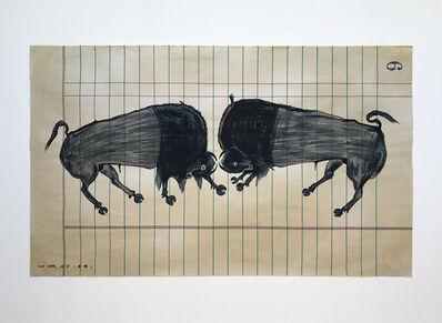 Ishi Glinsky, 'Crashing Buffalo', 2018