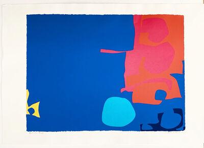 Patrick Heron, ' Interlocking Pink and Vermilion with Blue: April 1970 ', 1970