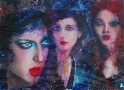 Inge Clayton, 'Three female faces', 2010