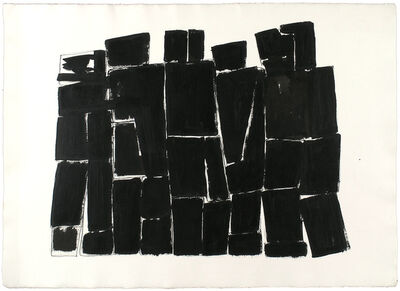 James Rosati, 'UNTITLED (ABSTRACT STUDY)', 1960