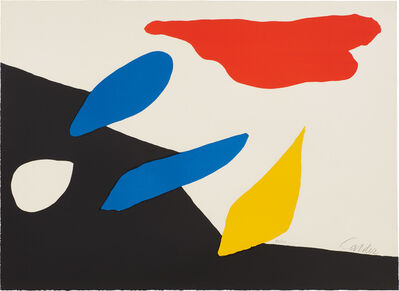 Alexander Calder, 'Untitled [Red Cloud]', 1970