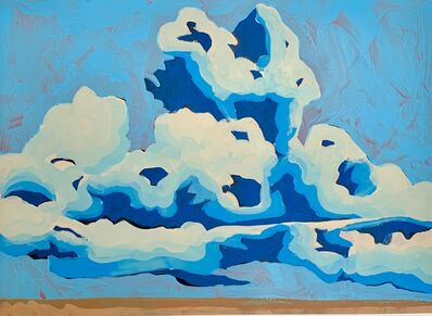Frank Buffalo Hyde, 'Cloudscape in Blue', 2019