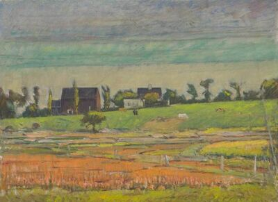 Theodore Wendel, 'View of Lower Farm, Ipswich', 19th -20th Century