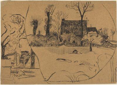 Paul Gauguin, 'Landscape at Pont-Aven', ca. 1888