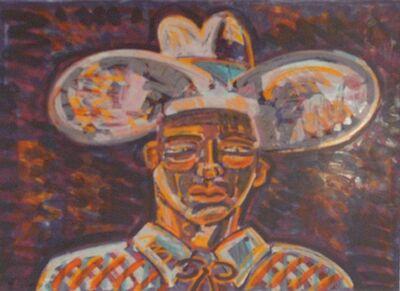 Frank Romero, 'Vaquero (Cowboy) Original Print', 1994