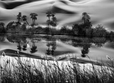 Sebastião Salgado, 'The Erg Ubari, a vast expanse of sand dunes, has no fresh water, but salt lakes, Libya', 2009
