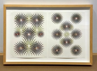 Philip Taaffe, '(Iris Diptych),  Magic Magic Book', 1994