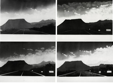 Alfred Leslie, 'Near Gallup, New Mexico (from 100 Views Along the Road)', 1981