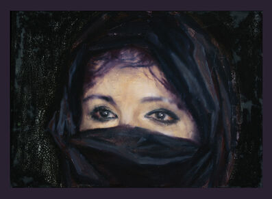 Attila Szűcs, 'Covered in black', 2017