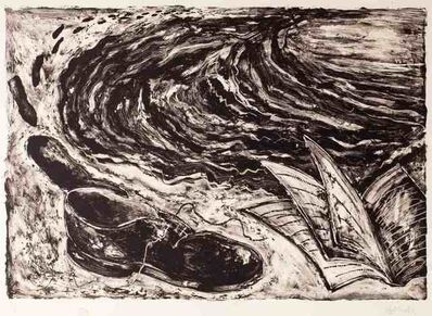Miquel Barceló, 'Untitled (book and shoe)', 1984