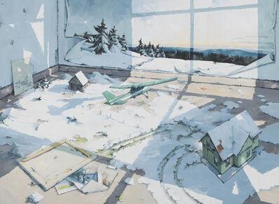 Sven Kroner, 'Atelier (Thüringerwald)', 2017