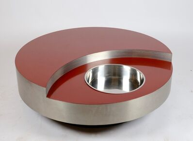 Willy Rizzo, 'Revolving Cocktail Table', 1970's