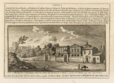 Giuseppe Vasi, 'Basilica di S. Sebastiano', 1747