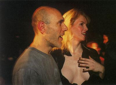 Nan Goldin, 'Joey and Gido watching the drag', 1997