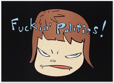 Yoshitomo Nara, 'Fuckin' Politics...', 2003