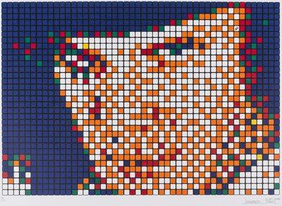 Invader, 'Rubik Kubrick Clockwork Orange (Alex)', 2006