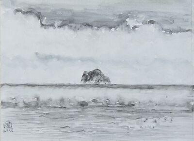 Lin Chuan-Chu, 'Keelung Islet with spring fog 基隆嶼:春雲', 2019